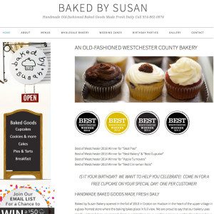 Baked by Susan Westchester