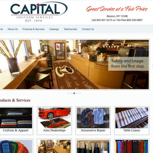 Capital Uniform Rental Beacon
