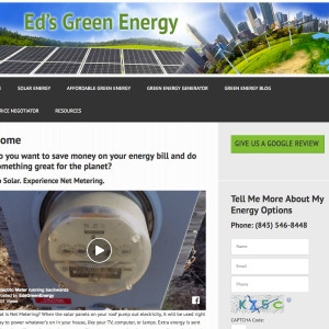 Eds Green Energy - We're talking Solar