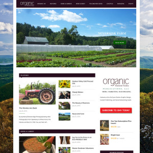 Organic Hudson Valley Magazine
