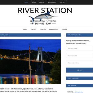 River Station Restaurant Poughkeepsie